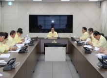 [의성]김주수 의성군수, 취임식 취소하고 군민 안전점검 관련 회의로 공식 업무 시작