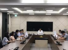 [의성]안전건설과 신속집행 독려회의 개최