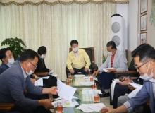 [의성]의회, 9월 의회 정기 간담회 개최
